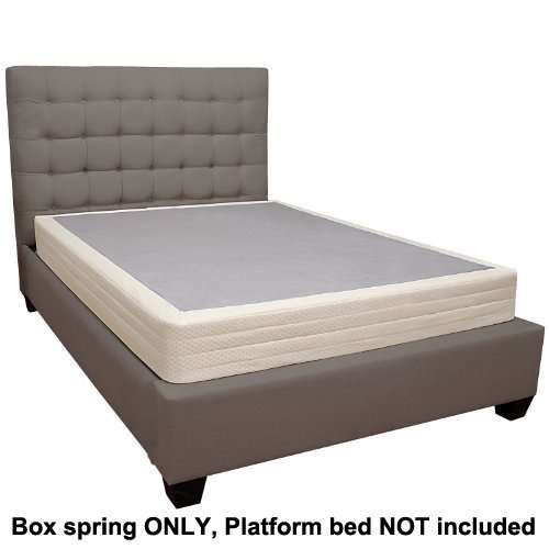 Lifetime Sleep Products Box Spring Great for Memory Foam Mattress ...